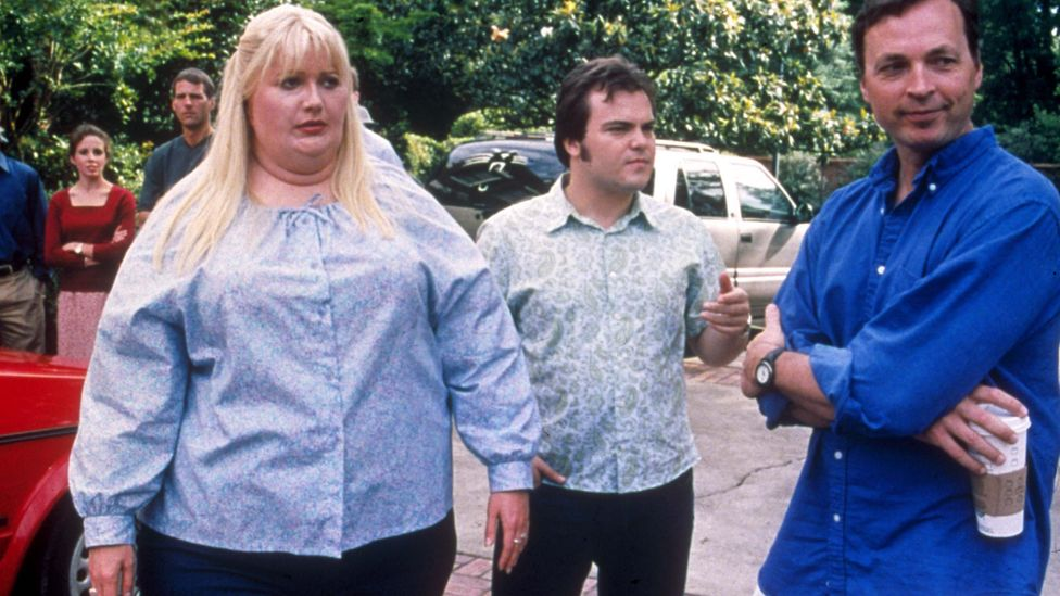 Gwyneth Paltrow in Shallow Hal – one of the many times that Hollywood actors have donned 'fat suits' for supposedly comic effect (Credit: Alamy)