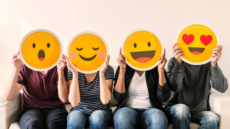 """Voice-activated search terms often include mood, for instance """"Play me happy music"""" (Credit: Getty Images)"""