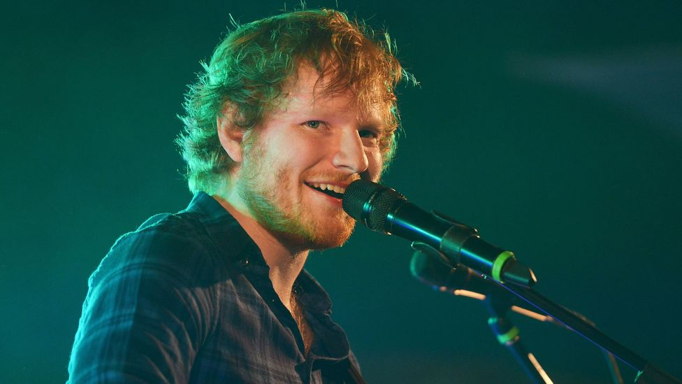 Ed Sheeran's ÷ was the most-requested album on Amazon's voice-activated speakers last year (Credit: Getty Images)