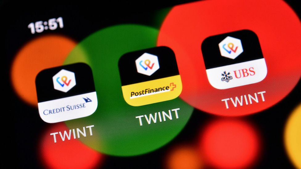 Compared to other nations, the Swiss don't use payment apps much – but that's slowly starting to change (Credit: Getty Images)