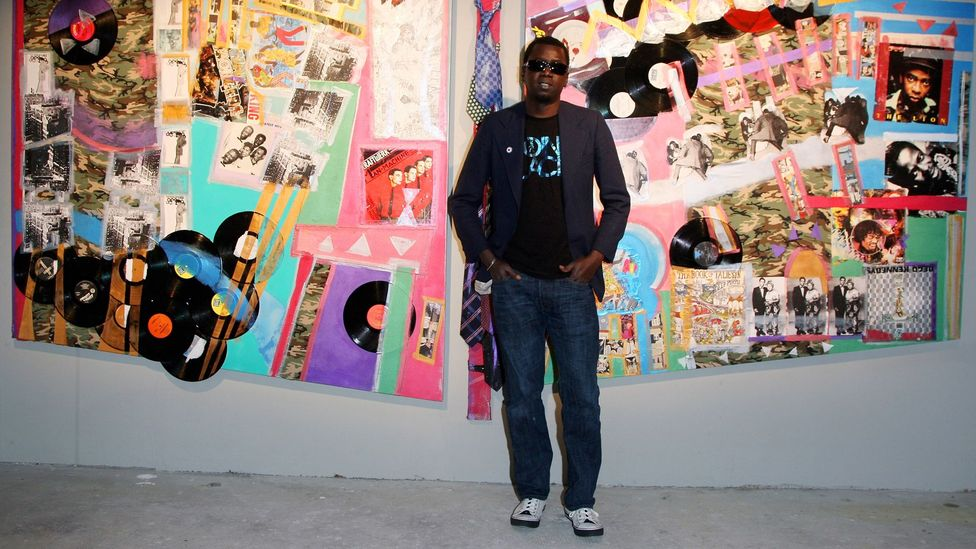 "Senegalese curator and artist Modou Dieng – seen in 2009 – tells BBC Culture ""the future of art is black"" (Credit: Getty)"