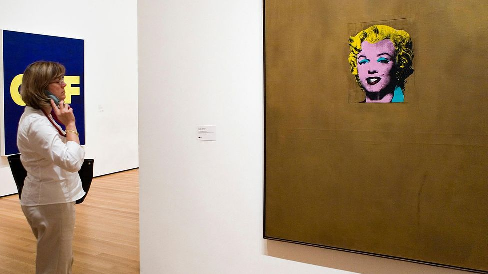 Warhol's Gold Marilyn was one of several of the Hollywood star that he reproduced to create new iconic images (Credit: Alamy)