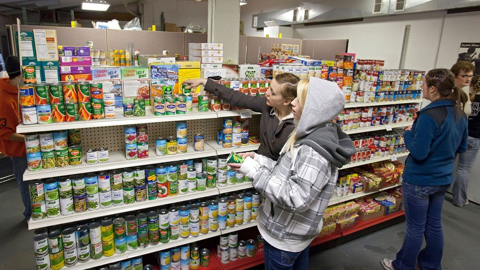 Food insecurity may lead to unexpected long-term damage to someone's physical and mental health (Credit: Alamy)