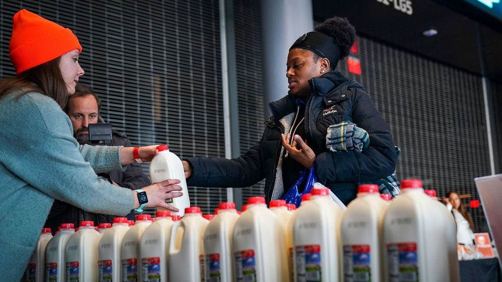 Food insecurity is growing in the UK, the USA, and Canada, and food banks alone may be an unsustainable solution (Credit: Getty Images)