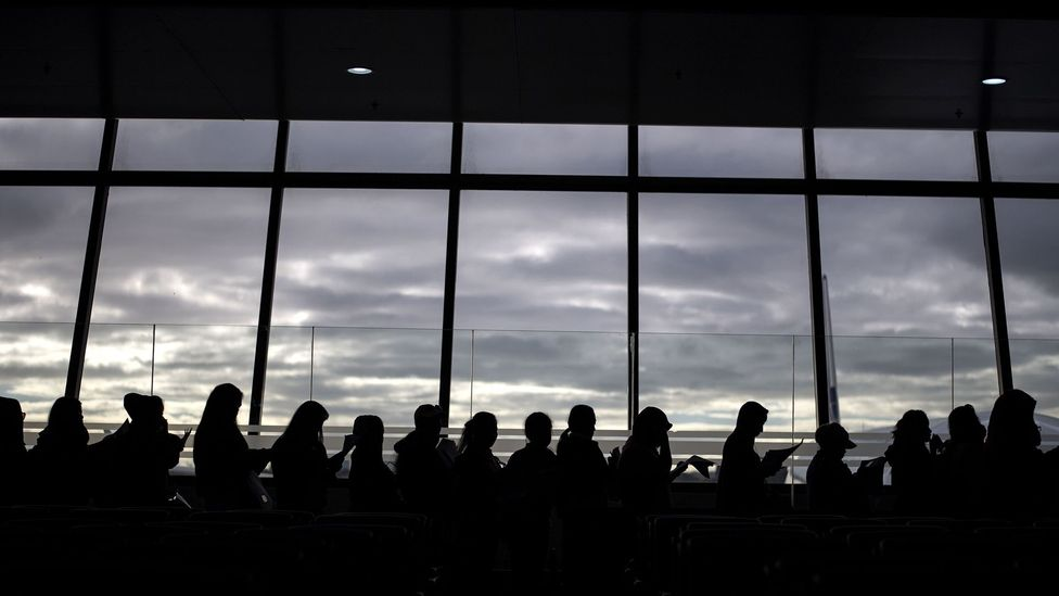 Airports are designed to reassure passengers about both routine travel stresses and more subconscious fears (Credit: Getty Images)