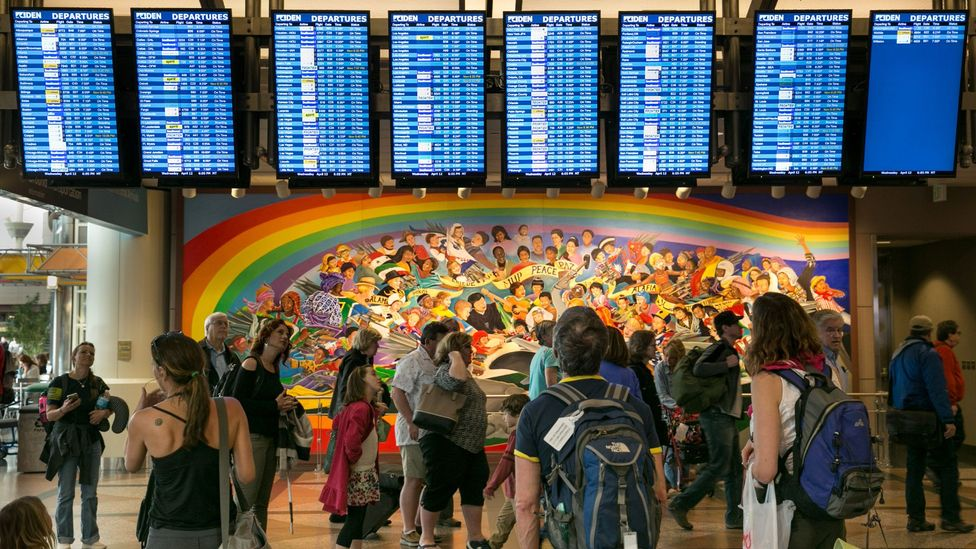 Flight information directories aren't just helpful – they give us a sense of control (Credit: Getty Images)