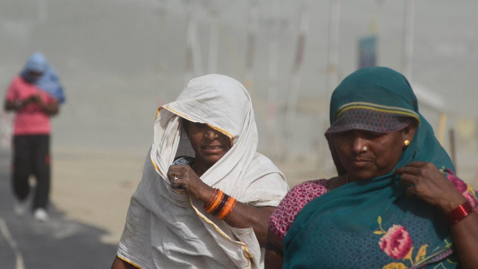 Deadly heatwaves - similar to one in 2015 that killed thousands of people in India and Pakistan - could soon become the norm (Credit: Getty Images)
