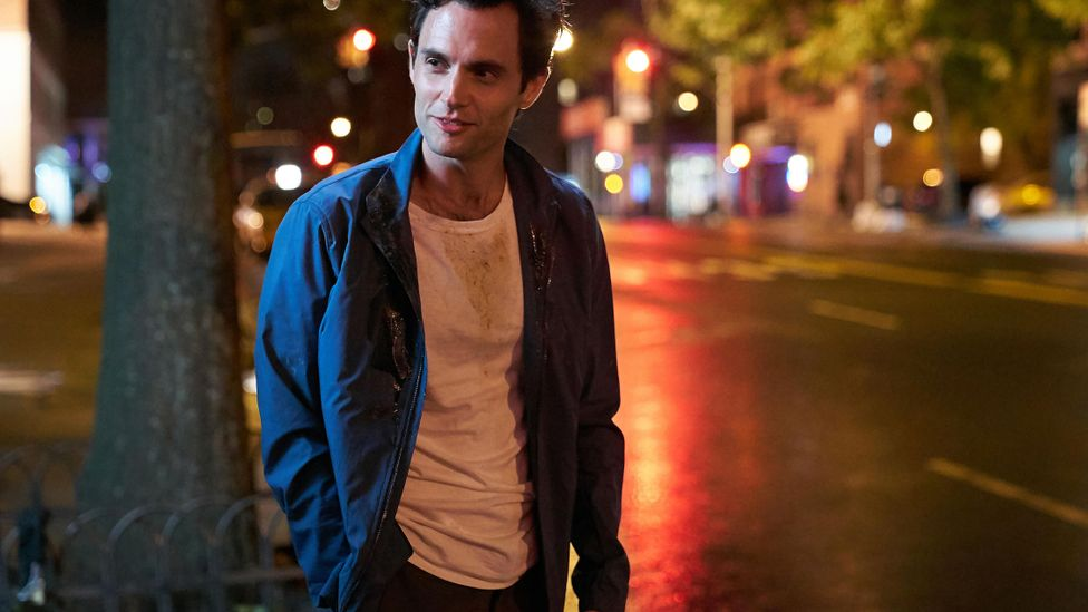 The drama You has been a huge hit on Netflix but has had fans lusting after its stalker anti-hero Joe (Penn Badgley) (Credit: Netflix)