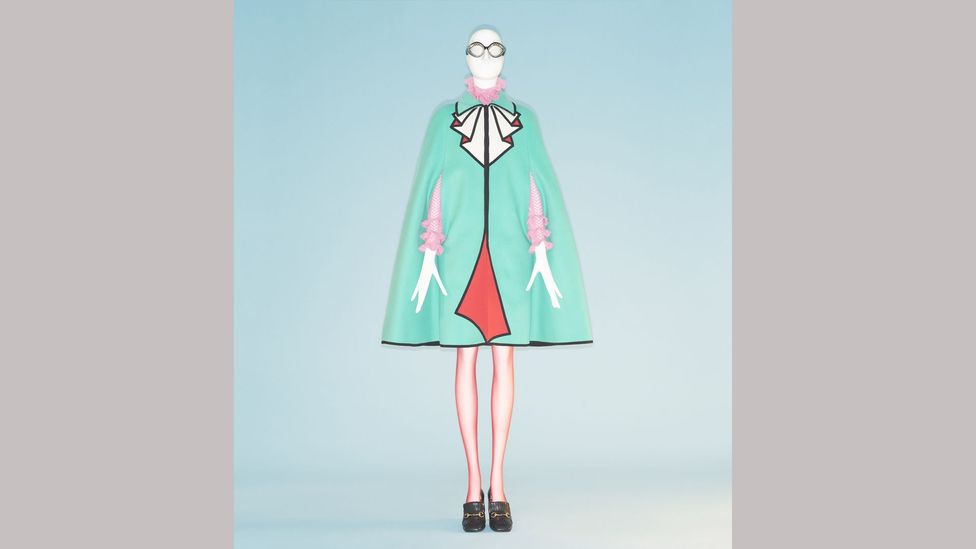 Ensemble by Alessandro Michele for Gucci – artifice and exaggeration are at the heart of camp (Credit: Metropolitan Museum of Art/ Johnny Dufort)