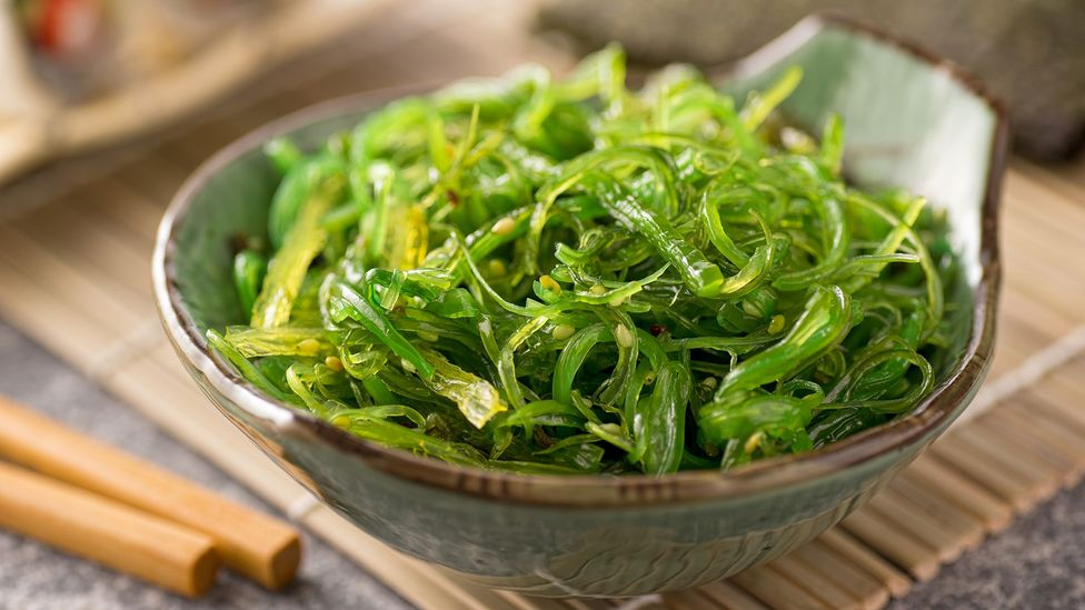 Seaweed, a staple of Japanese cuisine, is one food associated with the umami taste (Credit: Getty Images)