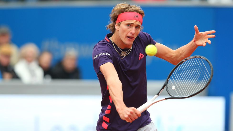 German tennis pro Alexander Zverev had trouble with a reporter's Yorkshire accent in a press conference last year - accents can impede workplace success (Credit: Getty Images)