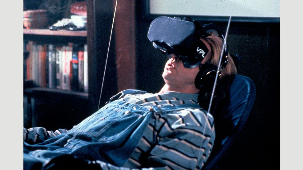 Filmmaking is far from realising the mind-bending tech imagined in films such as The Lawnmower Man (Credit: Alamy)