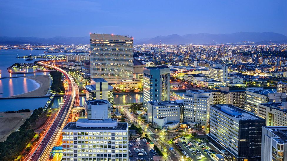 Fukuoka is being marketed as Japan's answer to Silicon Valley (Credit: Alamy)