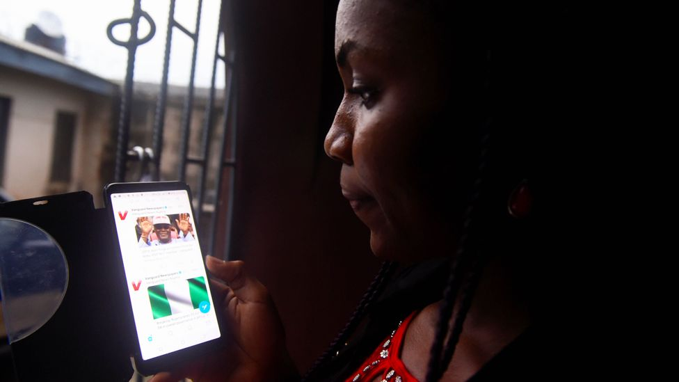 In Nigeria it's common for emails to end on a religious note such as variants of 'Stay blessed' (Credit: Getty Images)
