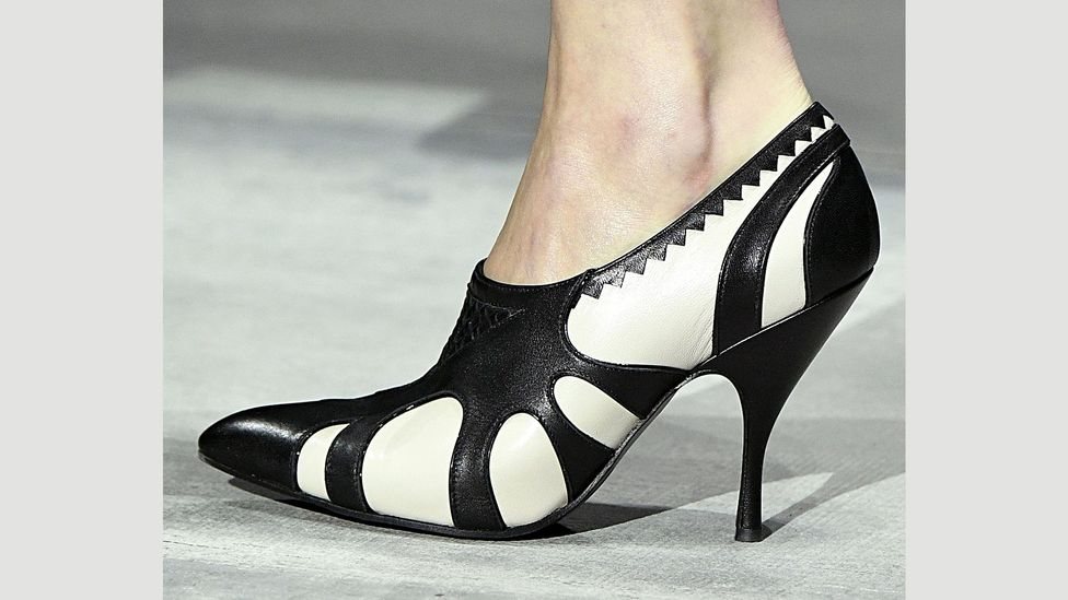 Heels have been lower in recent collections by, among others, Bottega Veneta (Credit: Getty Images)