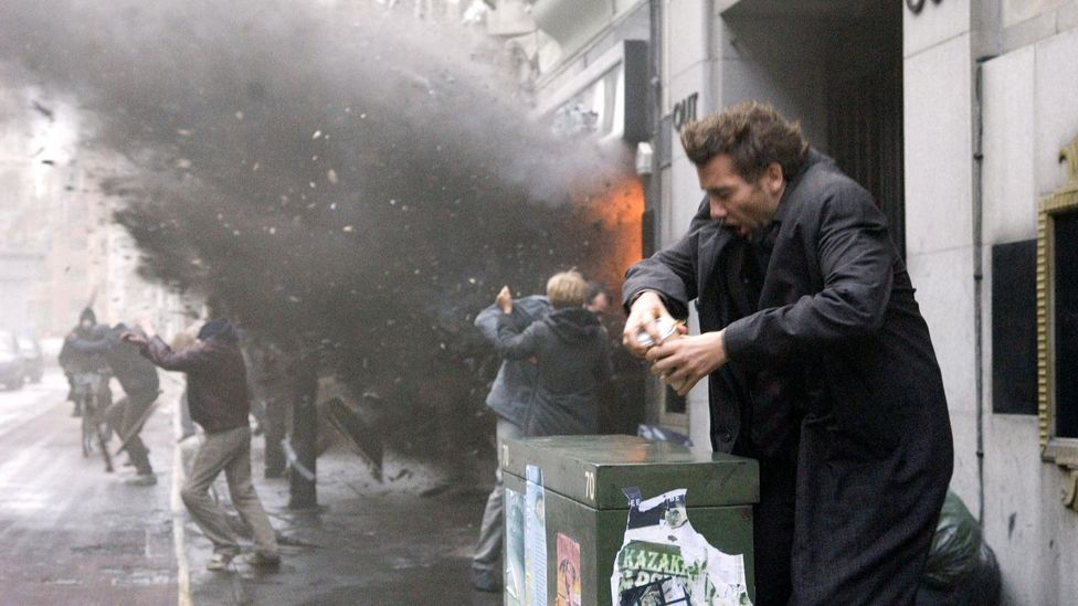 2006 film Children of Men is set in 2027 and its vision of a chaotic society overrun with terrorism and ecological disaster resonates more with every passing year (Credit: Alamy)