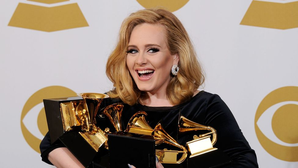 Adele: Turning tears into gold (Credit: Getty Images)