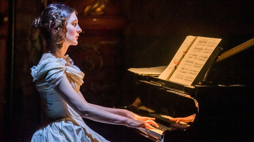 The play The Glass Piano tells the story of Princess Alexandra of Bavaria, who believed she had swallowed a piano made of glass as a child (Credit: Tristram Kenton)