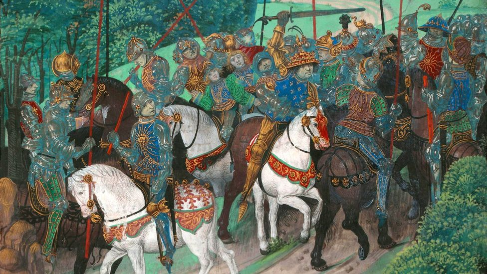 King Charles VI of France is one of the earliest documented cases of the 'glass delusion' (Credit: BNF/Alamy)