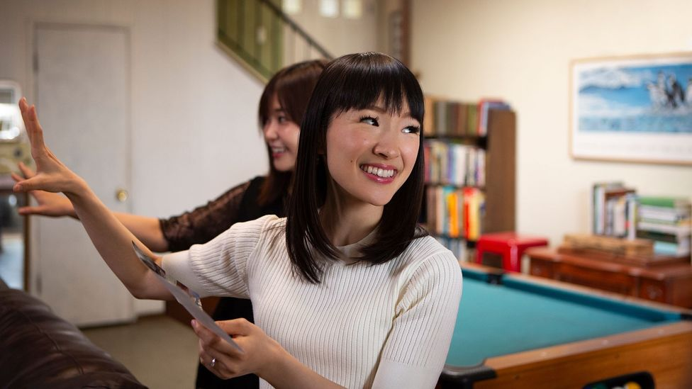 Marie Kondo's approach to tidying has attracted millions of fans around the world (Credit: Denise Crew/Netflix)