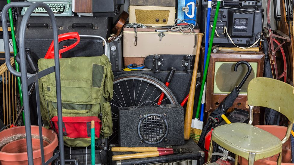 In extreme cases clutter can take over entire rooms and has been found to impact people's mental and physical health (Credit: Getty Images)