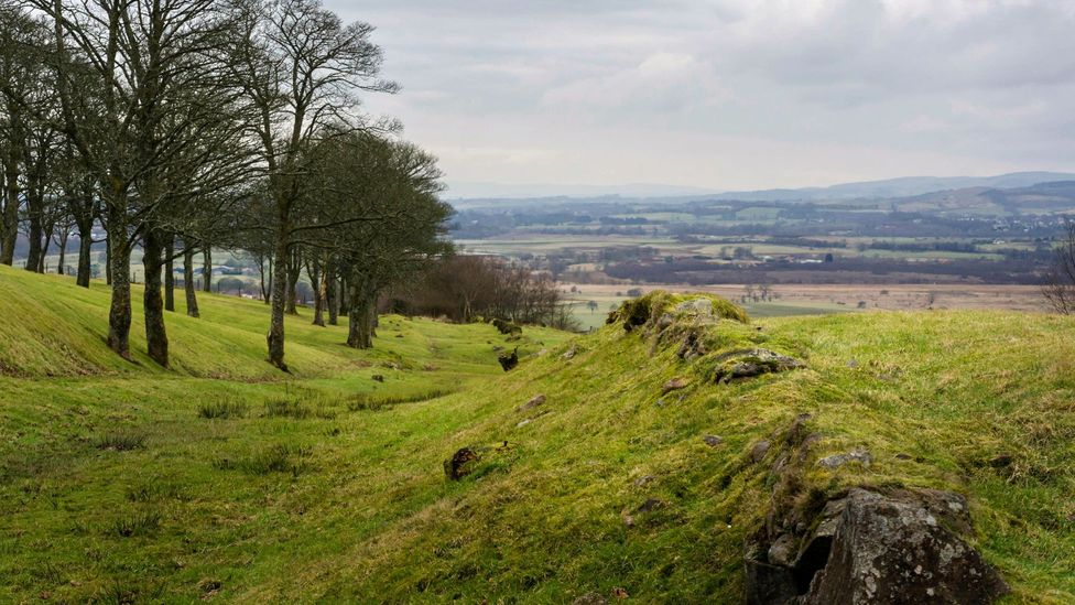 It's generally accepted that the Antonine Wall was abandoned within two decades (Credit: Steven Scott Taylor/Alamy)