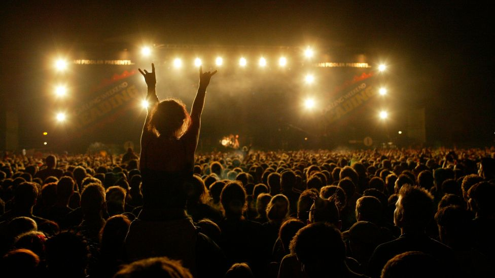 Around half of music festivalgoers are women, yet women make up less than one-fifth of the average line-up at these events (Credit: Getty Images)