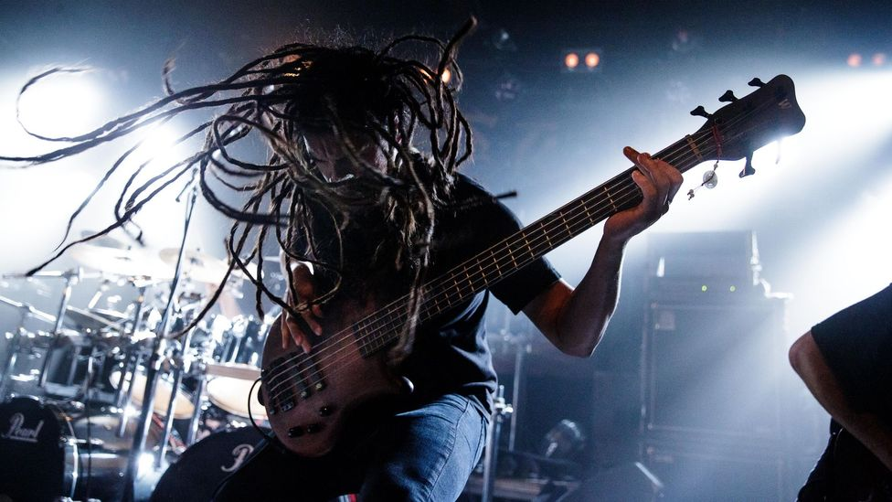 Dadabots have been playing technical death metal on YouTube constantly since March – a feat impossible for real bands like Abiotic, pictured (Credit: Alamy)