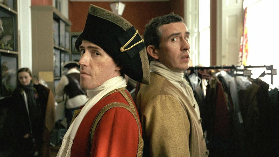 Rob Brydon and Steve Coogan starred in a suitably anarchic 2005 film adaptation of the book (Credit: Alamy)
