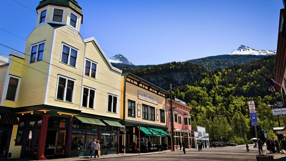 Skagway was established by stampeders during the late-19th-Century gold rush (Credit: Design Pics Inc/Alamy)