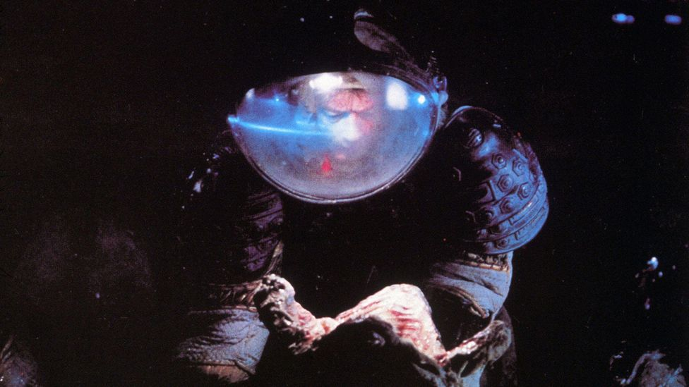 Kane (John Hurt) is the closest thing that Alien has to a conventional hero (Credit: Alamy)