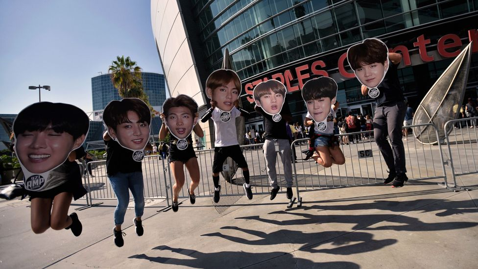 BTS mania hits the US (Credit: Getty Images)