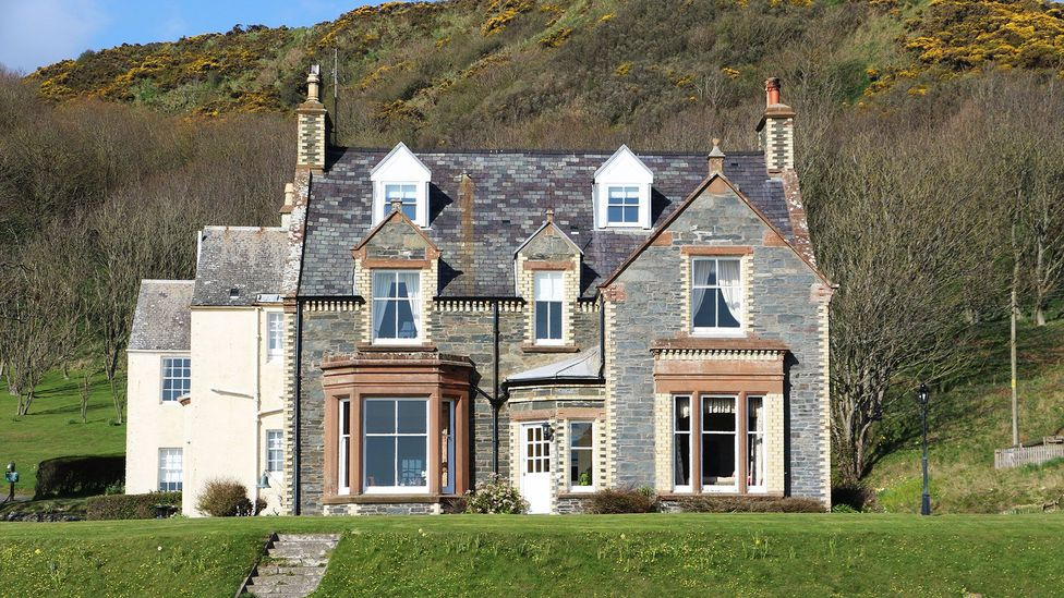Knockinaam Lodge is believed to be the site of a secret meeting between Winston Churchill and Dwight D Eisenhower (Credit: Mike MacEacheran)
