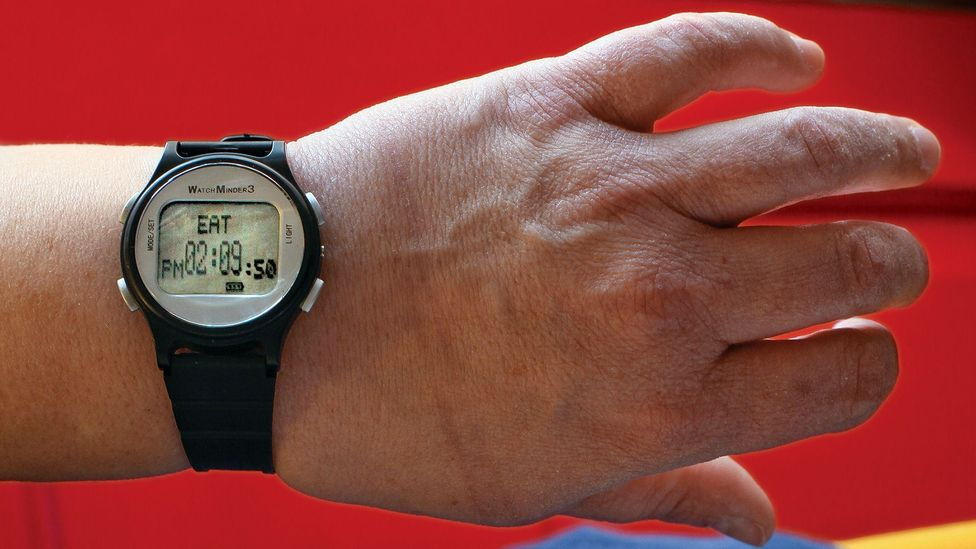 For adults with ADHD, using a watch to set alerts can be helpful as a reminder to do certain things, such as eat (Credit: Getty Images)