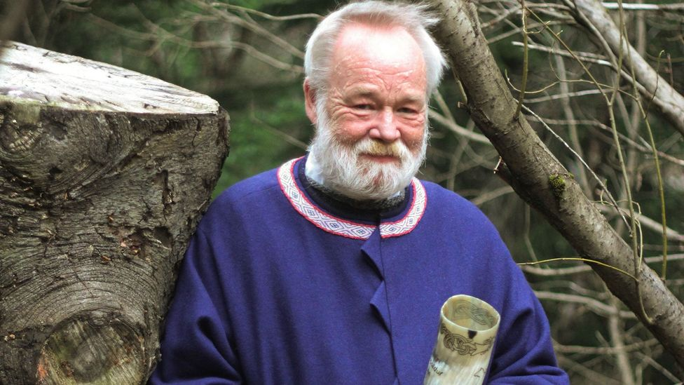 Hilmar Örn Hilmarsson was elected high priest of the Ásatrú Association in 2003 (Credit: Gavin Haines)