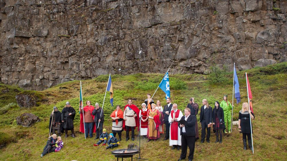 The Ásatrú Association of Iceland is currently one of the country's fastest growing religions (Credit: Gunnar Freyr Steinsson/Alamy)