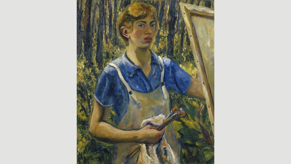 Krasner changed style often – and destroyed work she didn't like (Credit: The Pollock-Krasner Foundation)
