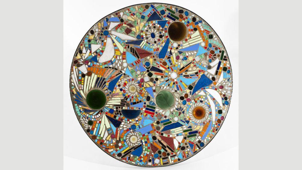 Mosaic Table, 1947 (Credit: The Pollock-Krasner Foundation)