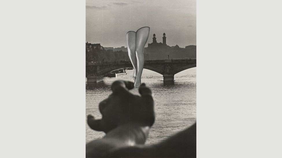 Maar experimented with making the familiar strange, with odd juxtapositions like Sans titre, 1935 (Credit: Centre Pompidou)
