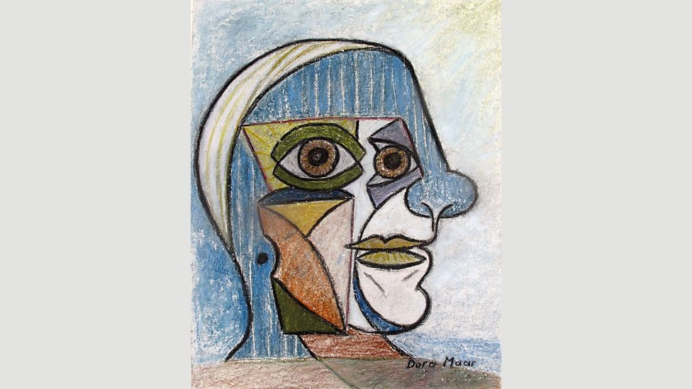 Maar's Portrait de Picasso from 1936 shows her own talent coming to the fore (Credit: Courtesy Galerie Brame et Lorenceau)