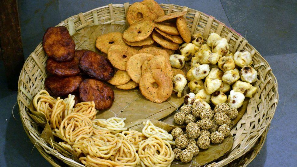 The shraadha meal brings together a vast variety of delicacies designed to please the palates of ancestors (Credit: Yasaswini Sampathkumar)