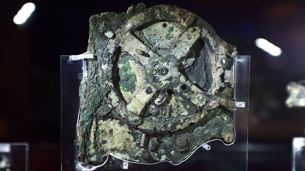 The Antikythera Mechanism, an ancient mechanical device from the 2nd Century BC (Credit: Getty Images)