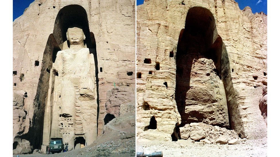 Ideological political changes in Afghanistan led to the sad destruction at Bamiyan (Credit: Getty Images)
