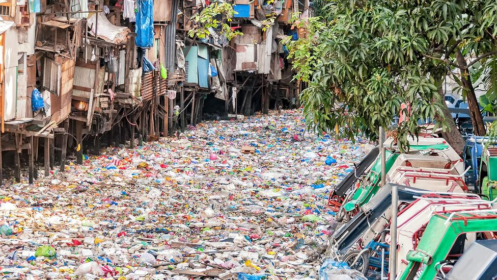 Many of the poorest communities are the most affected by plastic waste (Credit: Getty Images)