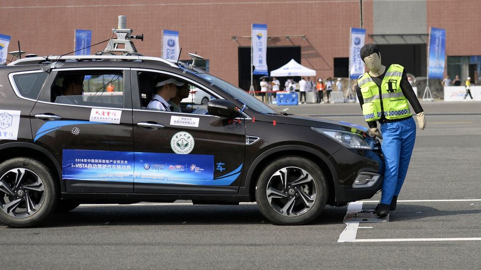 Will unmanned vehicles follow the best ethical principles when required to balance human lives? (Credit: Getty Images)
