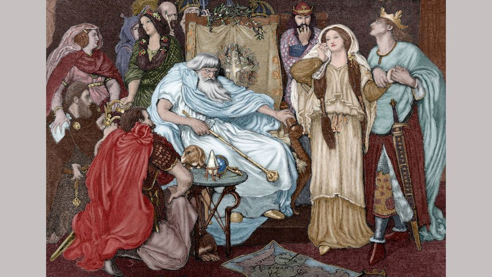 In Shakespeare's King Lear, the protagonist's flaws prove to be his downfall (Credit: Alamy)