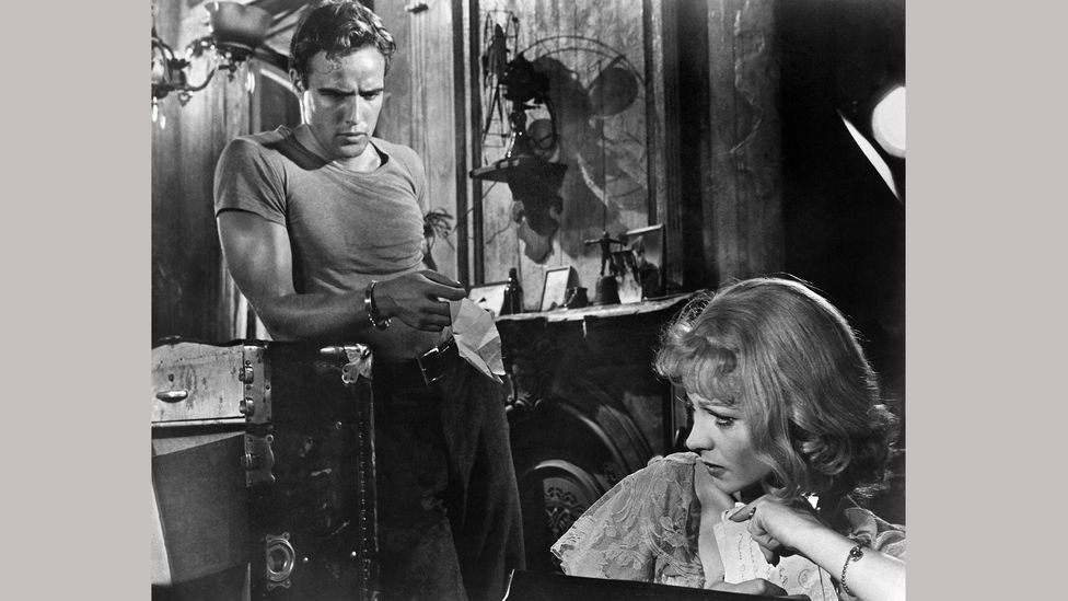 Tennessee Williams' play A Streetcar Named Desire is a classic depiction of failure and imperfection, and was adapted into a film in 1951 (Credit:  Alamy)