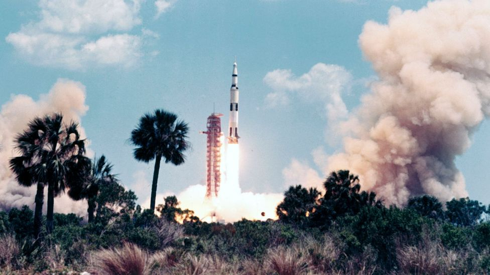 Launch of Apollo 16 (Credit: Getty Images)