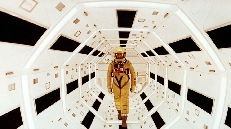 Clarke and Stanley Kubrick developed Clarke's short story The Sentinel into 2001: A Space Odyssey (Credit: Alamy)