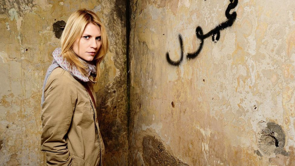 Hit thriller Homeland, which ends this year, has been accused of being one of the most bigoted shows on television for its portrayal of Muslims (Credit: Alamy)